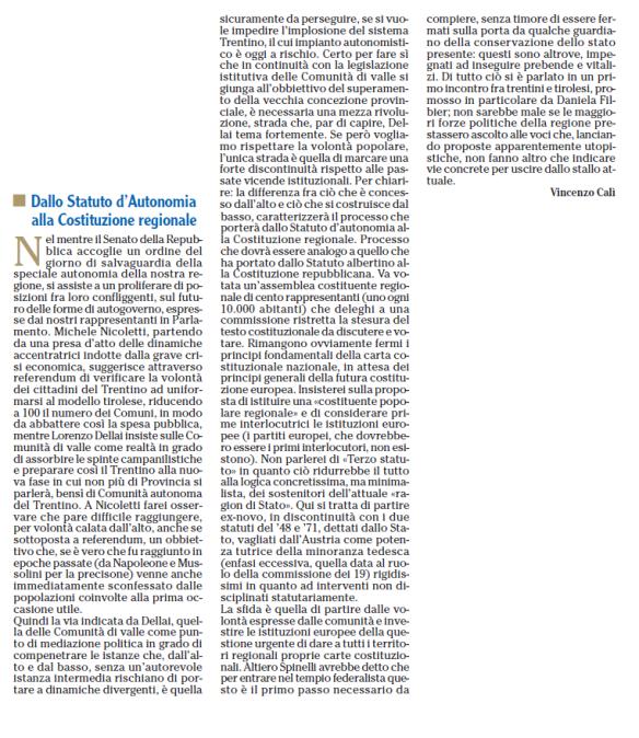 2014 08 10 Adige Dallo Statuto alla Costituente (Calì)