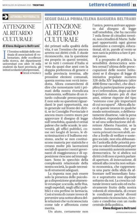 20150128_Attenzione al ritardo culturale_Elena Baiguera Beltrami