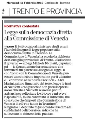 20150211_dem dir Commissione di Venezia