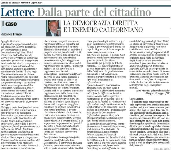 Caso Californiano_Corriere