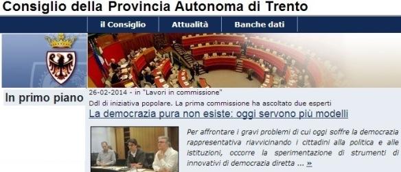 Consiglio Provincia Trento