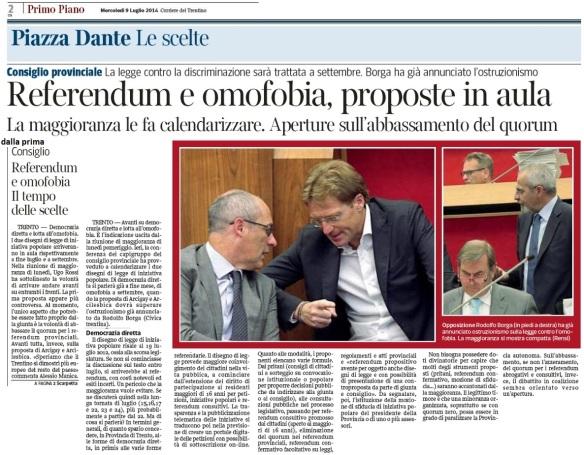 corriere 9 luglio