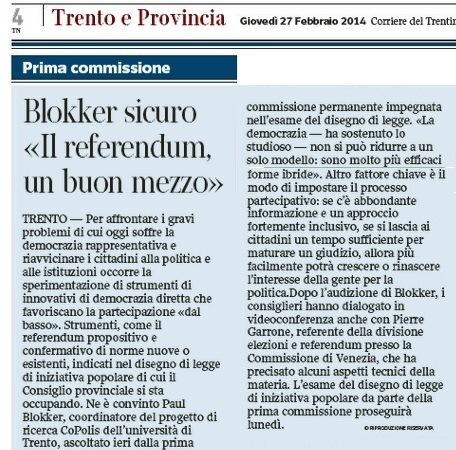 Corriere del Trentino_27feb14