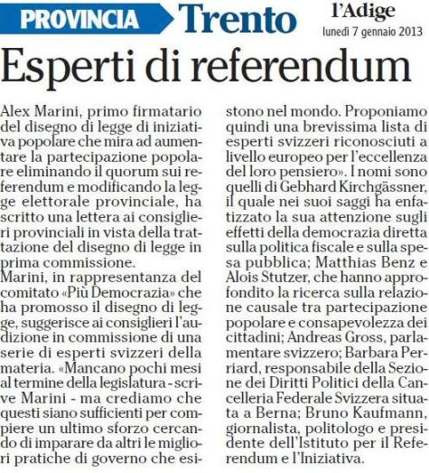 Esperti di referendum
