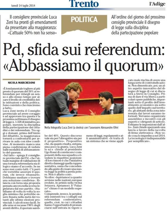 PD_sfida sui referendum