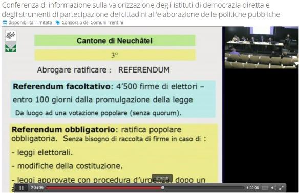 video conferenza informazione