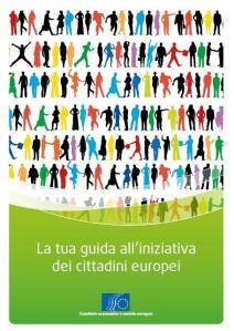 La tua guida all'iniziativa dei cittadini europei, a cura del Comitato Economico e Sociale Europeo