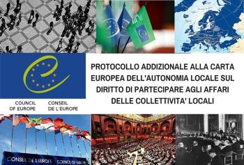Diritto di partecipare: lanciata la petizione per la ratifica del protocollo addizionale alla Carta europea dell'autonomia locale