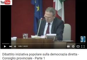 dibattito consiglio provinciale_democrazia diretta