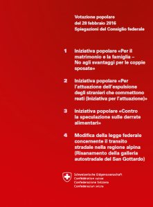 front page opuscolo