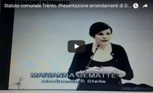 presentazione emendamenti Demattè