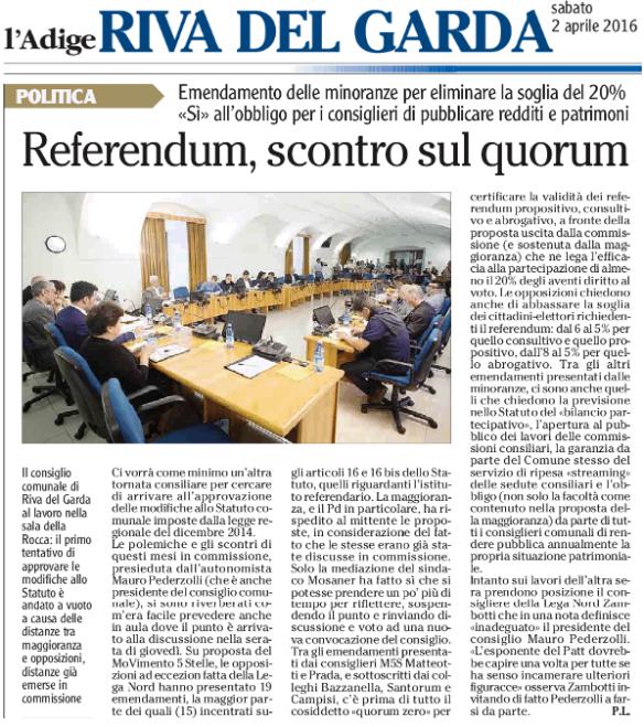 20160402_Riva_scontro su quorum