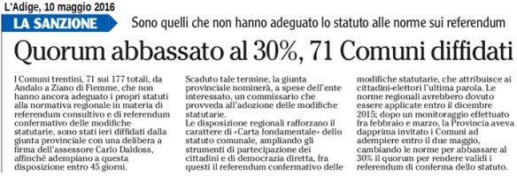 20160507 Adige_71 Comuni diffidati