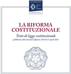 riforma costituzionale 2016