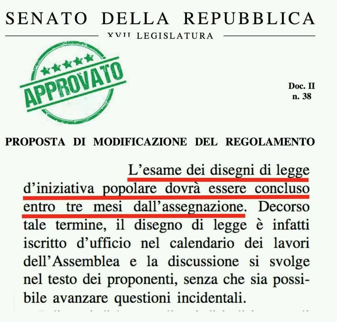 Senato Calendario.Riforma Del Regolamento Del Senato Corsia Preferenziale Per
